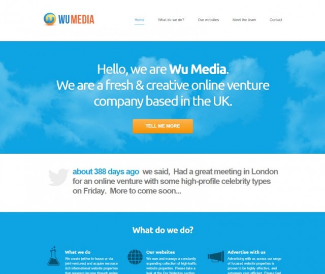Wu Media - NRD Media website design Chorley