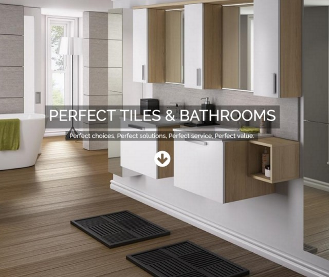 Perfect Tiles and Bathrooms - NRD Media website design Chorley