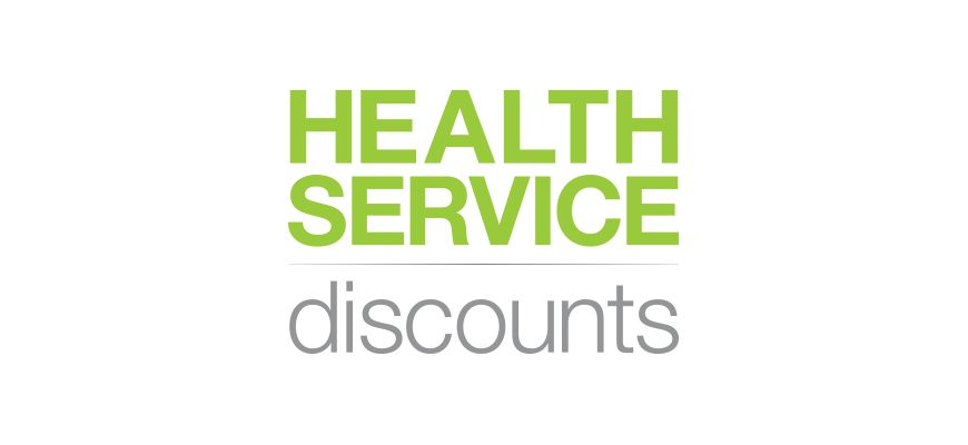 Health Service Discounts Website Design
